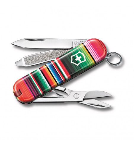 Victorinox Classic ,Limited Edition 2021 Patterns of The World, Swiss Made